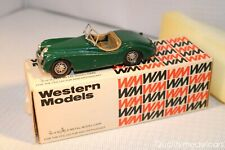 Western models 6 Jaguar XK120 Roadster green 1:43 excellent plus in box