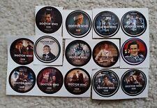 Doctor Who Get Glue Stickers Lot Matt Smith Peter Davison William Hartnell