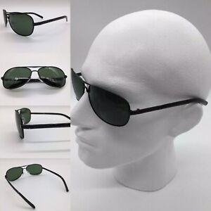 Men's Black Metal Alloy Frame TAC Polarized Sunglasses 100% UV 400
