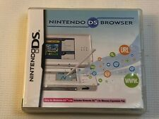 Nintendo DS Browser Only Nintendo DS 2007 No Expansion) Booklets Manual Included