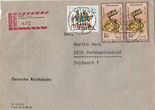 Lettera inviata da Thum dopo Burkhardtsdorf anno 1983 rarità