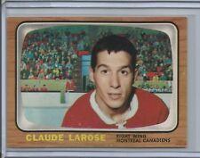 1966-67 Topps Hockey #10 Claude Larose (Canadiens) - High Grade - (Box DP)