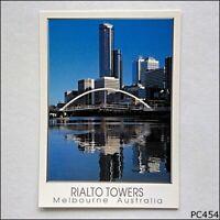Rialto Towers Melbourne Australia Postcard (P454)