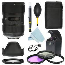 Sigma 18-35mm f/1.8 DC HSM Art Lens for Nikon + Filter Kit + Accessory kit