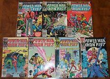 Power-Man and Iron Fist Marvel Bronze Age Lot 90 94 97 118 120 121 Secret Wars