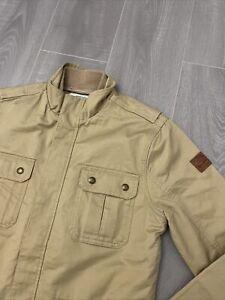 Mens Wrangler Jeans Shirt Jacket Size S Excellent Condition