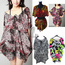 Long Sleeve Oversize Floral Dresses for Women