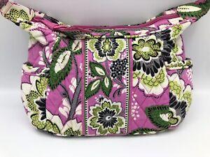 Vera Bradley PRISCILLA PINK Shoulder Bag Purse SOPHIE Zip Handbag Excellent!