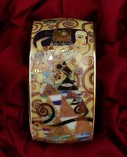 1 Gustav Klimt Porzellan Serviettenring mit edlem Motiv - Ohne OVP !!! Nr.7