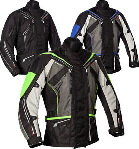 Roleff lange Touren Motorradjacke - Klimamembrane, Belüftung und Protektoren