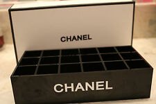 Chanel VIP Gift Make Up Cosmetic Box Organizer lipstick nail polish Holder