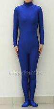 New Lycra Spandex Zentai costume Bodysuit Catsuit Unitard No Hood & Hands