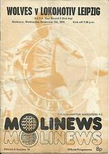 EC Wolverhampton Wanderes - Lok Leipzig 73/74