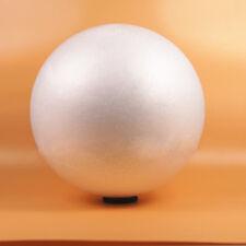 10 Round White 80mm Polystyrene Foam Ball Modelling Sphere Styrofoam Craft AGT