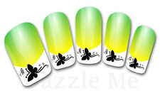 3D Nail Art Sticker Decals Transfer Stickers French Tip Design Butterfly (3D826)