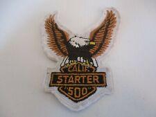 Vintage Harley Davidson California Starter 500 Motorcycle Jacket Patch