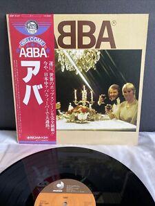 LP ABBA - Same   Japan Press   NM/M   OBI