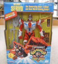 "Superhuman Samurai Syber-Squad Servo Deluxe 8"" Figure Brand New Sealed Playmates"