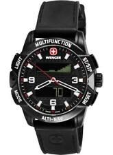 wenger alti-nav watch 70440  - unwanted gift - compass barometer altimeter
