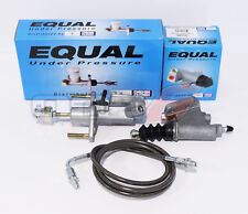 Exedy Master & Slave Cylinder & Gunmetal Clutch Line Kit 06-11 Honda Civic Si