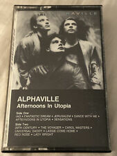 """Alphaville """"Afternoons in Utopia"""" CASSETTE   Atlantic 7 81667-4   Synth-pop"""
