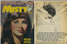 100 + MISTY COMICS and ANNUALS/ SPECIALS on disc. With viewing software.