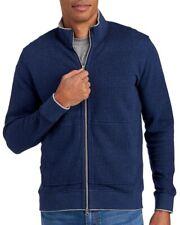 Robert Graham Mens Blue Houndstooth Knit Cotton Jacket NWT $278 Size 3XL XXXL