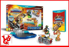 STARTER PACK SUPERCHARGERS WII-U Skylanders jeu video blister AMIIBO # NEUF #