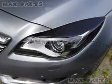 Vauxhall OPEL INSIGNIA 2013-2016 Facelift Eyebrows ABS headlight spoiler lid