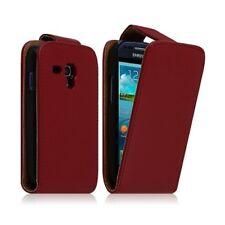 Housse coque étui pour SAMSUNG GALAXY S3 MINI Couleur Rouge