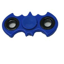 Batman symbol Fidget Spinner- Handheld Toy (Blue / black circles)