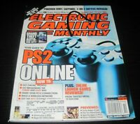 Vintage EGM Electronic Gaming Monthly Video Game Magazine NES PS 2002 issue 159