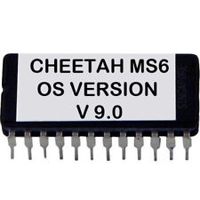 Cheetah MS-6 Latest OS V. 9.0 firmware update upgrade EPROM MS6