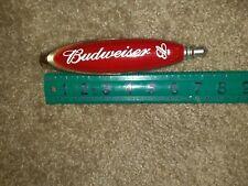 Budweiser Vintage Red Beer Bar Tap Handle 7� decorative