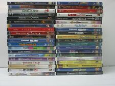 Wholesale Lot Of 40 Assorted ***Walt Disney*** DVDs & DVDs Movies