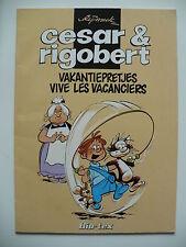 EO 1981 (très bel état) - César et Rigobert (pub BIO-TEX) - Ryssack