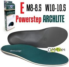 Powerstep ArchLite Full Length Cushioned Shoe Insoles Size E  M 8-8.5 W 10-10.5