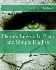 Alighieri Dante-Dantes Inferno In Plain & Simp BOOK NEW