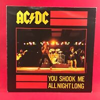 "AC/DC You Shook Me All Night Long 1980 UK 7"" vinyl single EXCELLENT CONDITION 45"