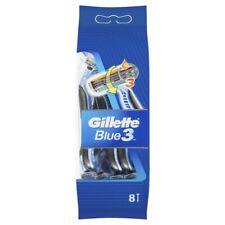 Gillette Blue 3 Disposable Shaving Razor 8pk