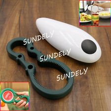 New One Touch Automatic Electric Can Tin Jar Opener Hands Free Battery Operated