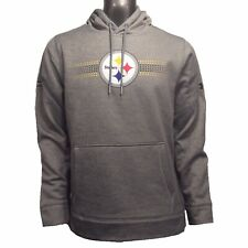 Pittsburgh Steelers Under Armour NFL Combine L Dot Striped Storm Hoodie $75
