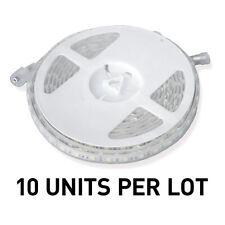 "[LOT OF 10] NEW EuControls Cool White LED Strips, 12V Outdoor, 16'4"" Reel"
