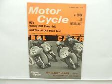 March 1966 Motorcycle Magazine Norton Atlas Mike Hailwood Honda Twin L8030