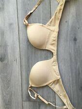 Magic Bodyfashion V Bra Beige Skin Colour Size 36C