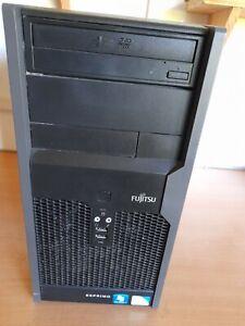 PC FUJITSU P2560 / CORE QUAD Q8300 4X2.50 GHZ / 4 GO / 500 GO /WIND 10 PRO
