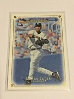 2007 UD Masterpieces Baseball Base Card #30 - Derek Jeter - New York Yankees
