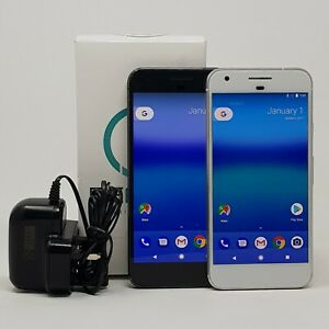 GooGoogle Pixel (G-2PW4200) 32GB - Smartphone - White - Unlocked -Good Condition