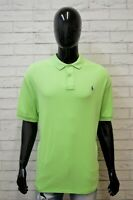 Polo Maglia Uomo RALPH LAUREN Taglia Forte Manica Corta Shirt Big Size Cotone