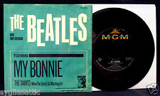THE BEATLES with TONY SHERIDAN-My Bonnie & The Saints 45 & PS-MGM #K13213
